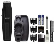 Wahl 5606-917 GroomEase Battery Powered Stubble & Beard Mens Facial Hair Trimmer