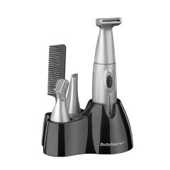 BaByliss 7040CU 6 In 1 Personal Grooming Kit Hair Trimmer + Nose Ear & Eyebrow