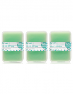 Hive Of Beauty 3 For 2 Waxing Tea Tree Paraffin Therapy Treatment - 450g Block