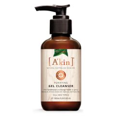 A'kin Purifying Gel Cleanser Makeup Remover 100% Natural Australian Skincare