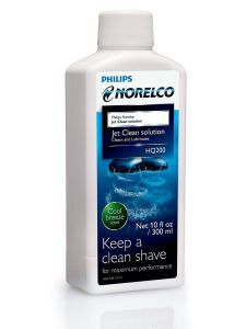 Philips HQ200 Mens Shaver Cleaning Solution Fluid Jet Clean - 300ml