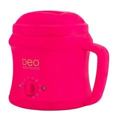 Deo 500cc Wax Heater For Warm Crème Hot Wax Lotions - Pink
