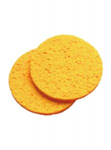 Hive Of Beauty Cellulose Facial Treatments Mask Removing Sponges - Round 2x10cm
