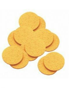Hive Of Beauty Cellulose Facial Treatments Mask Removing Sponges 12 x 10cm