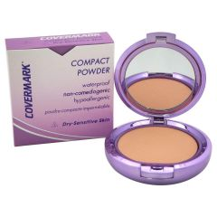 Covermark Compact Powder For Dry/Sensitive Skin Natural Looking Coverage Makeup