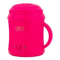 Deo 1000cc Wax Heater For Warm Crème Hot Wax Lotions - Pink