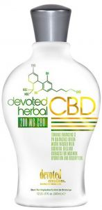 Devoted Creations DC Herbal CBD Tanning Lotion Bronzer Free - 350ml