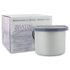 Satin Smooth Single & Double Wax Paraffin Lotions Warmer Insert Pot