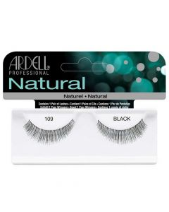 Ardell Natural 109 Black Easy To Apply Full False Eye Lashes