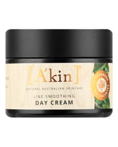 A'kin Age-Defy Line Smoothing Day Cream Natural Firming Wrinkle Skin Care 50ml