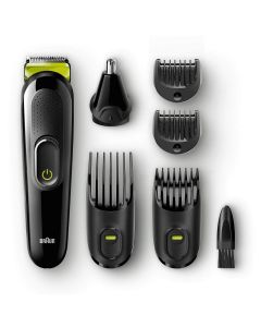 Braun 6in1 Ultimate Precision Perfect Face And Hair Styling Trimmer Kit