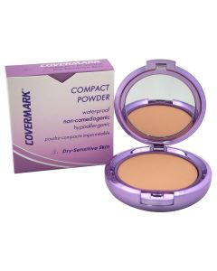 Covermark Compact Powder For Dry Sensitive Skin Natural Looking Coverage Makeup