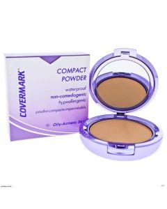 Covermark Compact Powder - For Oily Skin Natural Looking Coverage Makeup