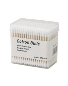 Deo Professional Paper Stem Cotton Buds x 200