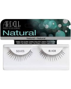 Ardell Natural Sexies Black Easy To Apply Full False Eye Lashes