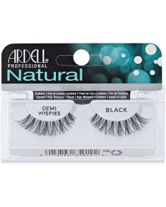 Ardell Natural Demi Wispies Black Easy To Apply Full False Eye Lashes