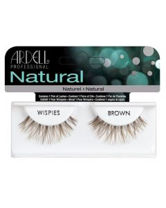Ardell Natural Wispies Brown Easy To Apply Full False Eye Lashes