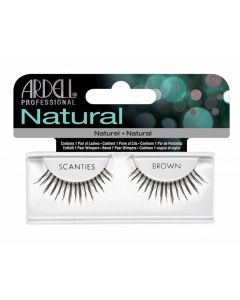 Ardell Natural Scanties Brown Easy To Apply Full False Eye Lashes